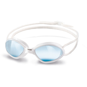 8ba9f6b4e Head Tiger Race Mid Gafas de natación, white-blue